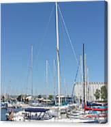 Sailboat Series 02 Canvas Print