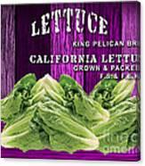 Lettuce Farm Canvas Print