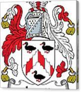 Levett Coat Of Arms II Irish Canvas Print