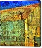 Leviticus 24 15 Canvas Print