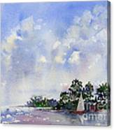 Leeward The Island Canvas Print
