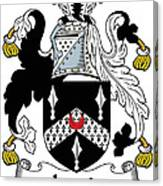 Lewis Coat Of Arms Irish Canvas Print