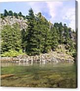 Lewis River Landscape Canvas Print