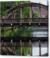 Lewiston Canal Bridge Canvas Print