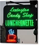 Lexington Candy Shop Canvas Print