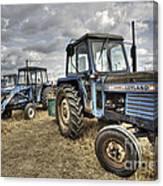 Leyland Tractors  Canvas Print