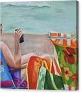 Ladies' Beach Retreat Canvas Print