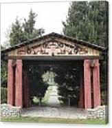 Lheit-li Nation Burial Grounds Entrance Canvas Print