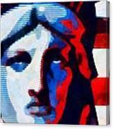 Liberty 3 Canvas Print