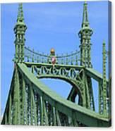 Liberty Bridge Budapest Canvas Print