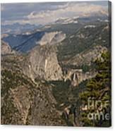 Liberty Cap And The Falls Canvas Print
