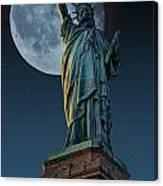Liberty Moon Canvas Print