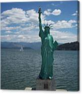 Liberty On Lake Pend Oreille  Canvas Print