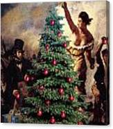Liberty Places Star On The Tree Canvas Print