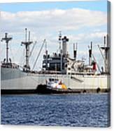 Liberty Ship  Canvas Print
