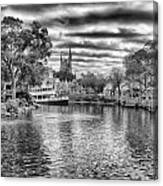 Liberty Square Riverboat Canvas Print
