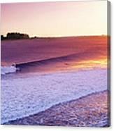 Liberty Surf Canvas Print