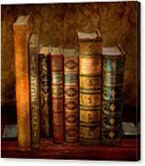Librarian - Writer - Antiquarian Books Canvas Print