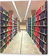 Library Daze IIi Canvas Print