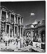 Library Of Celsus - Ephesus Canvas Print