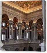 Library Of Congress Washington Dc Canvas Print