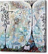 Library Tree Canvas Print