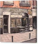 Libreria Perez Galdos Canvas Print