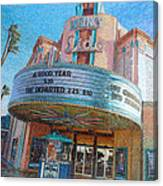 Lido Theater Canvas Print