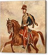 Lieutenant Colonel James Thomas Brudenell  Canvas Print