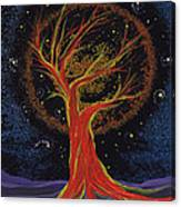 Life Blood Tree By Jrr Canvas Print