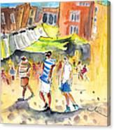 Life In Cartagena 01 Canvas Print
