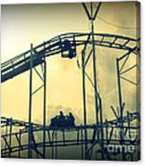 Life Is A Rollercoaster Canvas Print