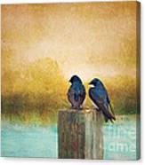 Life Long Friends - Days End Canvas Print