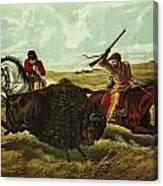 Life On The Prairie Canvas Print
