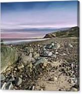 Life Rocks Sunset Canvas Print