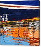 Lifeboat Reflections Canvas Print
