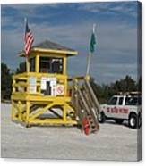 Lifeguard And Beachpatrol Canvas Print
