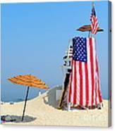 Lifeguard 9-11 Tribute Canvas Print
