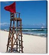 Lifeguard Canvas Print
