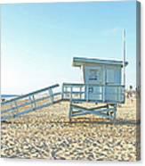 Lifeguard Station #13 Canvas Print