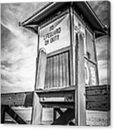Lifeguard Tower 10 Newport Beach Hdr Picture Canvas Print