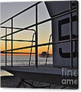 Lifeguard Tower 5  Canvas Print