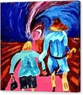 Life's Road Canvas Print