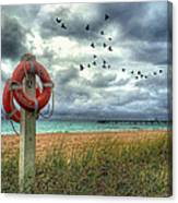 Lifesaver Canvas Print