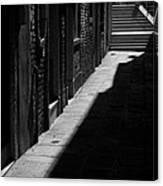 Light And Shadow - Venice Canvas Print