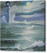 Light At Sea Canvas Print