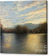 Light At The End Of The Day Canvas Print