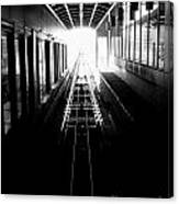 Light At The End Of The Tunnel. Canvas Print