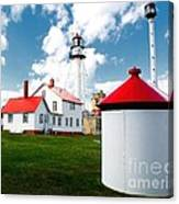Light At Whitefish Point Canvas Print