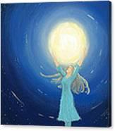 The Light Bearer Canvas Print